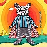 iron on patch,parches para ropa,Aplique de bordado, utilizado para decorar ropa para reparar agujeros en la ropa, Superman Rabbit pequeño gran set 1pc