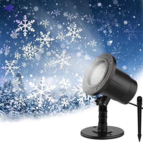 led projektor Weihnachten, Halloween projektor, Weihnachtsbeleuchtung außen, Lichtprojektor für Halloween Ostern Neujahr Geburtstag