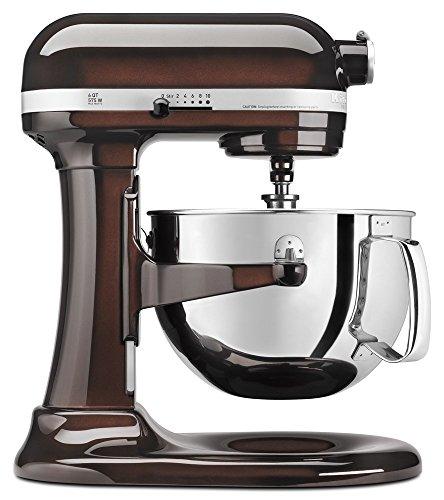 KitchenAid KP26M1XES 6 Qt. Professional 600 Series Bowl-Lift Stand Mixer - Espresso (Renewed)