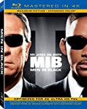 Men in Black (Mastered in 4K) (Blu-ray + UltraViolet)