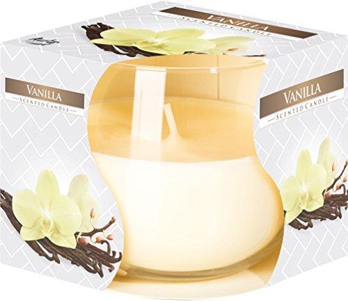 VISCIO TRADING Vela perfumada de vainilla en el vidrio