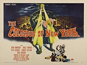 The Colossus of New York Movie Poster (30 x 40 Inches - 77cm x 102cm) (1958) -(John Baragrey)(Mala Powers)(Otto Kruger)(Robert Hutton)
