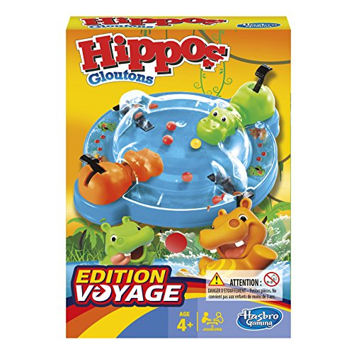jeux Hippos Gloutons de Societe Hippos Gloutons de Voyage - Version française B10011010 Norme Autre