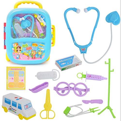 Kinder Simulation Kleine Doktor Spielzeug 13 Stück Set Haus Home Stethoskop Hängen Flasche...