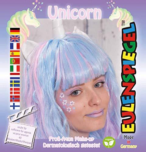 Miroir hibou style licorne