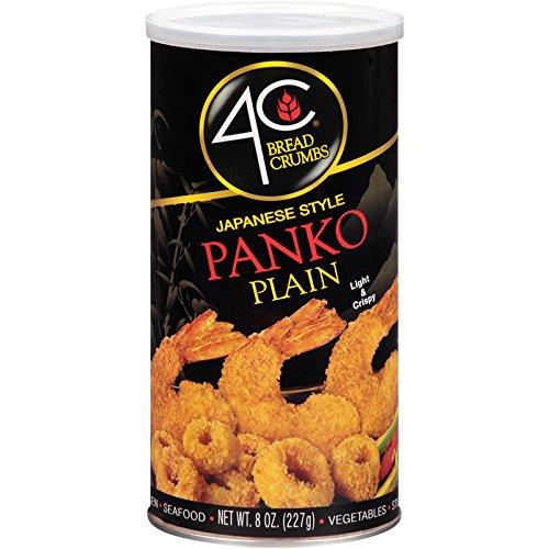 4C Panko Plain Bread Crumbs 8 oz. (Pack of 3)