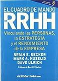El Cuadro de Mando de Recursos Humanos: Vinculando las personas, la estrategia y el rendimiento de la empresa (Spanish Edition)