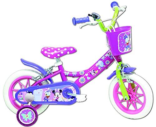 Bicicletta da ragazza, con licenza Minnie, 2 freni