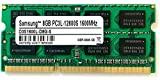 Samsung 3rd 8GB DDR3 1600MHz PC3L 12800S SO Dimm Low Voltage Notebook Laptop Arbeitsspeicher RAM Memory