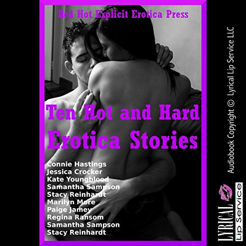 Ten Hot and Hard Erotica Stories audiobook cover art