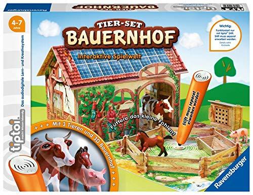 tiptoi® Tier-Set Bauernhof: Interaktive Spielwelt für die tiptoi® Bauernhof-Tiere