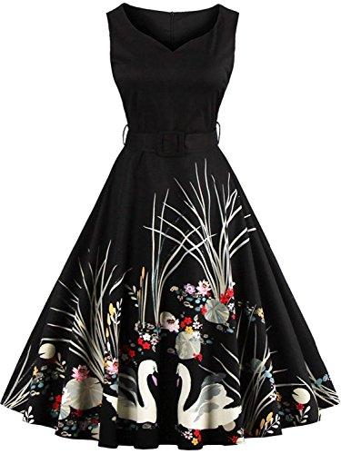 Womens Short Bridesmaid Dresses Wedding Party Gown,Black,2XL