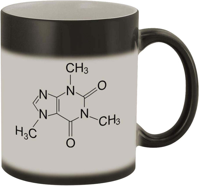 Caffeine Molecule  132  Funny Humor Ceramic 11oz color Changing Coffee Mug Cup