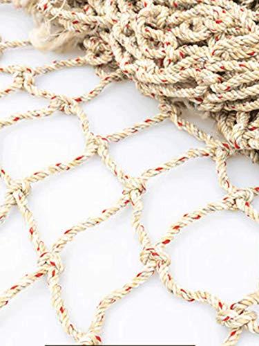 MAGFYLYDL Seilnetz Verschleißfeste Netzabdeckung Sicherheitsnetz Schutznetz Nylonseilnetz Autonetz Autonetz(Color:hellweiß,Size:7M*8M(23 * 26.2FT))
