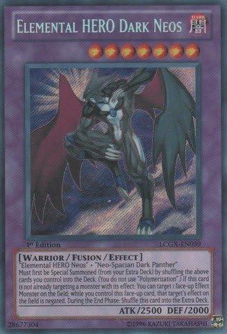 Elemental Hero Avian LCGX-EN002 - LP Unl Ed Secret Rare