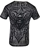 Xtreme Couture by Affliction Men T-Shirt Last Scream Tatto Biker MMA Gym S-5X$40 (M) Gray