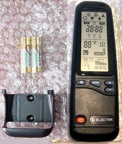 ELECTRA Telecomando per condizionatori Ariwell RC-A, Ricambio Universale per Tutti i Modelli Airwell Emailair Aria...