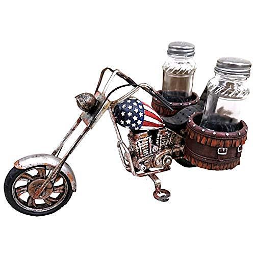 Salz & Pfefferset, Salz- und Pfefferstreuer Motorrad Bike Chopper