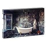 Bild auf Leinwand mit Wellness-Motiv Stilleben Badezimmer |