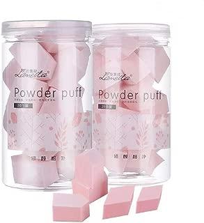 Ruihua - Juego de 20 esponjas para base de maquillaje, sin látex, veganas, multiformas, no coman polvo, cuadrilateral/pentágono