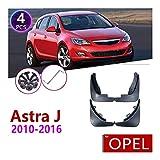 XHSM Accesorios Exteriores para automóviles Car Fender Mud Splash Guardia De La Aleta Guardabarros Accesorios para Opel Astra J Buick Verano 2010~2016
