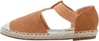 comprar comparacion Luckycat Sandalias Mujer Cuña, Verano Plataforma Punta Cerradas Bohemias Zapatos De Tacón Alto Alpargatas De Playa Fiesta ...
