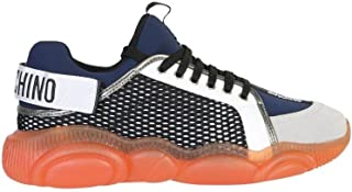 Luxury Fashion   Moschino Men MB15133G1BGJ200E Multicolor Polyester Sneakers   Autumn-winter 20