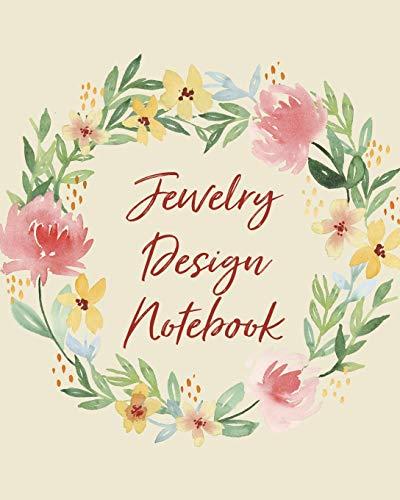 Jewelry Design Notebook: DIY Project Planner - Organizer - Crafts Hobbies - Home Made - Beadwork - Jewels