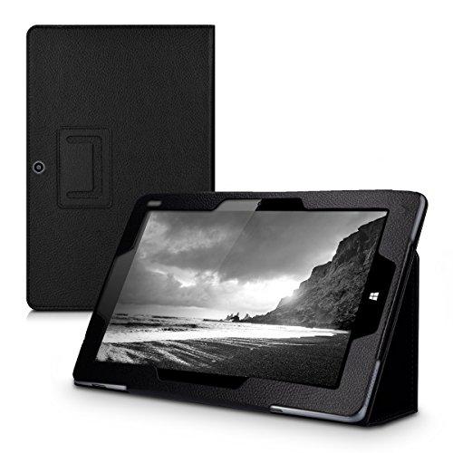 kwmobile Funda Compatible con Chuwi Hi10 Pro - Case de Cuero sintético para Tablet con Cierre magnético y Soporte