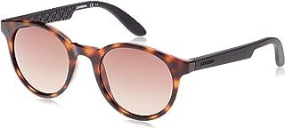 نظارة شمسية دائرية 5029/S - لون دخافانا/اسود مطفي اللمعة للنساء من كاريرا