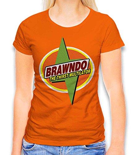 Shirtdl Brawndo The Thirtst multilator dames T-shirt - vele kleuren/S-XXL
