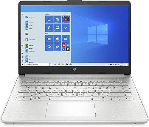 HP - PC 14S-Dq0000Sl Notebook Pc, Celeron N4020, Ram 4, Emmc 64, Grafica Uhd Intel, Windows 10 Home S Mode, Schermo 14 Micro-Edge Antiriflesso, Fotocamera Hp Truevision 720P, Lettore Micro Sd, Argento