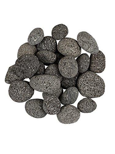 Pflanzwerk® Pflanzkübel Dekosteine Zierkies Magma Lava Rocks Anthrazit 5KG *Frostbeständig* *UV-Schutz* *Qualitätsware*