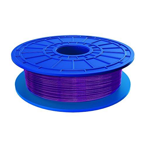 Dremel 26153D05JA Bobina de filamento PLA con base vegetal para impresora 3D, reciclables, 1,75 mm, , Morado (Violeta)