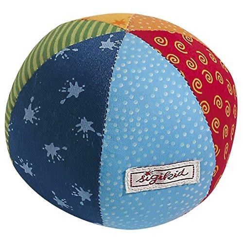 SIGIKID La balle d'activités en tissu balle bébé ballon, multicolore