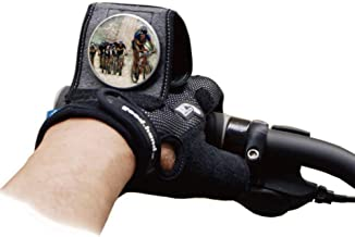 cycling gloves with mirror