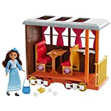 Spirit Untamed Lucky'S Train Home Playset, Train With Rolling Wheels Balcony, Dining Accessories, Lucky Doll (7-In/17.78-Cm), Spirit (Approx.8-In/20.32-Cm) & More, Great Gift For Ages 3 Years Old & Up