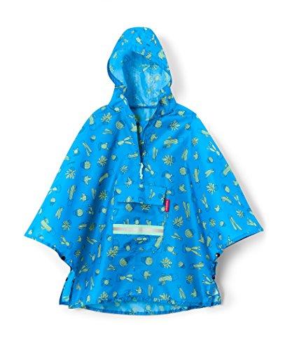 reisenthel Mini Maxi Poncho M pour enfant Bleu cactus 93 x 62 x 0 cm