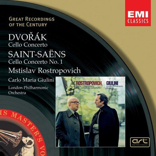 Dvorak: Cello Concerto / Saint-Saens: Cello Concerto No. 1
