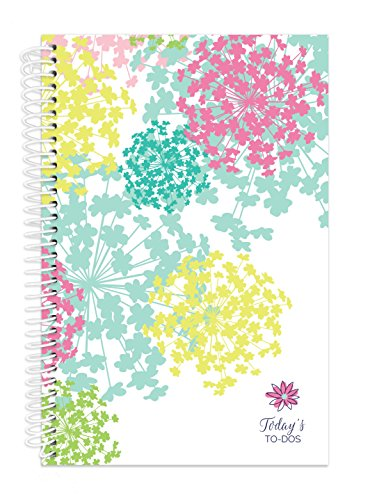 """bloom daily planners Bound to-Do List Book - UNDATED Daily Planning System Tear Off Calendar Pages - 6"""" x 8.25"""" - Bloom"""