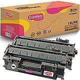 Excellent Print CE505A 05A Compatible Cartucho de Toner para HP Laserjet P2030 P2035 P2050 P2055
