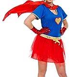 Costume da Super Woman sexy donna - taglia S-M