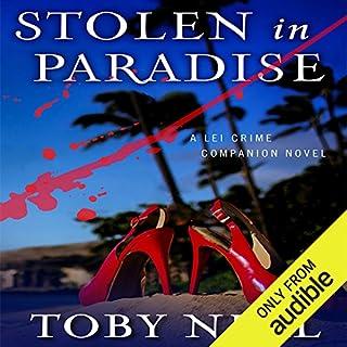 Stolen in Paradise audiobook cover art