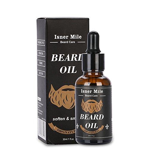 Acondicionador de aceite de pan de argán natural Dgtrhted, aceite para moldear la barba, hidratante, suavizante