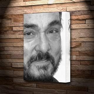 Seasons John Rhys-Davies - Canvas Print (A5 - Signed by The Artist) #js002