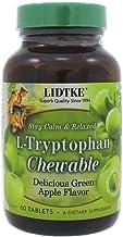 Green Apple L-Tryptophan LIDTKE 60 Chewable