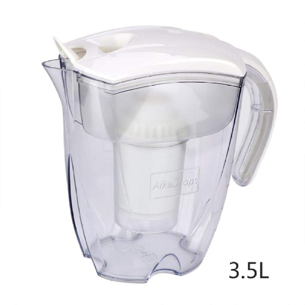 Filtro De 3,5 Litros Hervidor De Agua Purificador De Agua Con Filtro De Carbón Activado Hervidor De Agua Cocina De Oficina Purificación De Bebidas Hogar-Blanco: Amazon.es: Hogar