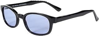 Original X-KD's Biker Blue Lens Black Frames 20% Sunglasses