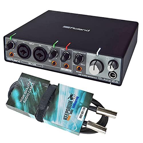 Roland Rubix 24 - Interfaz de audio USB y cable Midi keepdrum