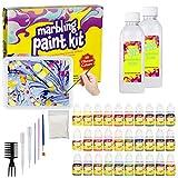 Marbling Paint Kit for Kids, Water Marbling Paint Set,...